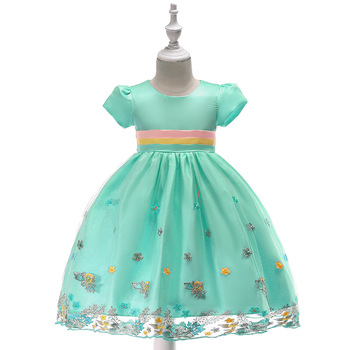 цена на Princess Flower Girl Dresses Fashion Party Pageant Communion Dress for Wedding Little Girls Kids/Children Dress
