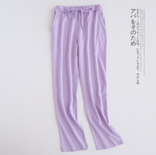 Casual Loose Home Pant Women Autumn Winter Long Pajamas Pant Cotton Sleep Pijama Pants Lounge Pants Pijama Inverno
