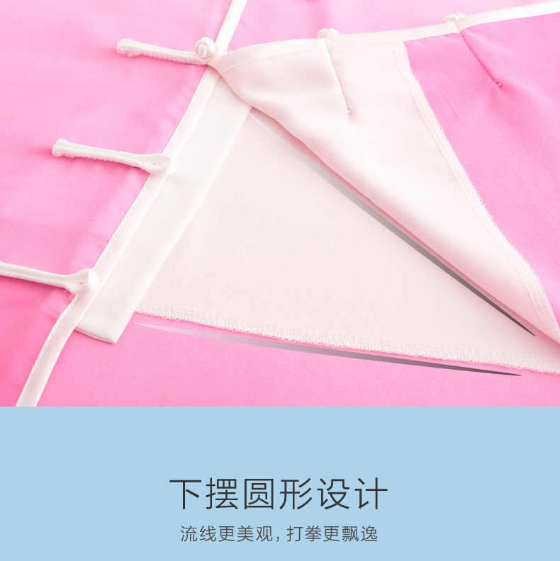 UNISEX gradienten leistung chiffon tai chi taijiquan uniformen anzüge kampfkunst wushu kleidung kung fu kleidung