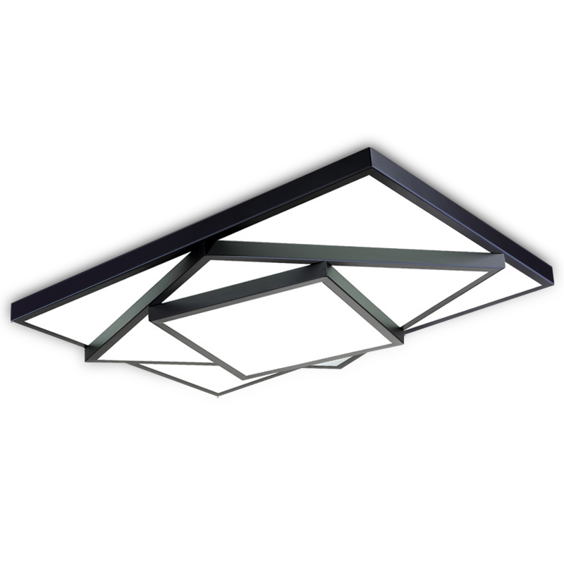 Remote control Modern ceiling lights for living room Bedroom hallway home ceiling lamp acrylic aluminum body LED ceiling Lamp remote control modern led ceiling lights for bedroom smart ceiling lamps acrylic aluminum body dimming led lamp ceiling