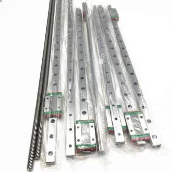 1Set BLV mgn Rails kit 700MM /400mm mgn12H linear rails 2pcs T8 Leas screw 700MM For DIY Anet E12 and Cr-103D Printer