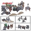 JOY MAGS Military SWAT Building Blocks Toys Wold War II German Offensive Battle of Bulge Model 170