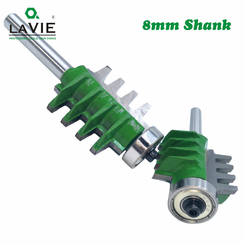 Image 4 - 8mm Shank Router Bits Finger Joint Glue Milling Cutter for Wood Tenon Woodwork Cone Tenon Milling Tenoning Machine Tools MC02003-in Milling Cutter from Tools