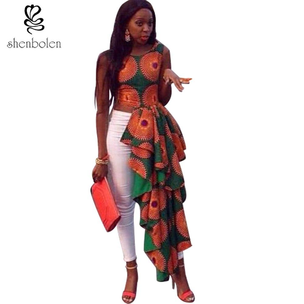 2016 Summer Women Fashion African Style Beautiful Print