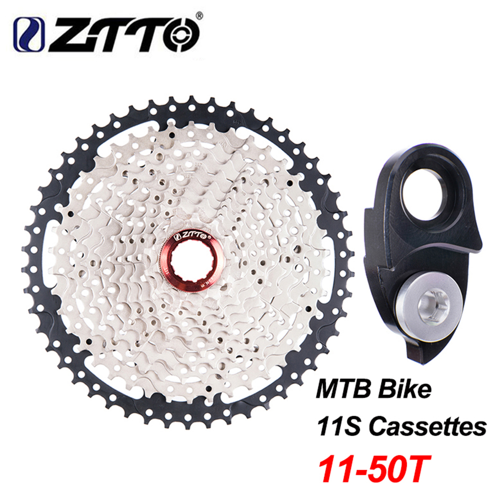 ZTTO Brand Mountian MTB Bike 11 Speed Freewheel Sprocket Cassette 11- 50T and Hanger Extension  for Shimano m7000 m8000 m9000 катушка для спиннинга agriculture fisheries and magic with disabilities 7000 8000 9000 11