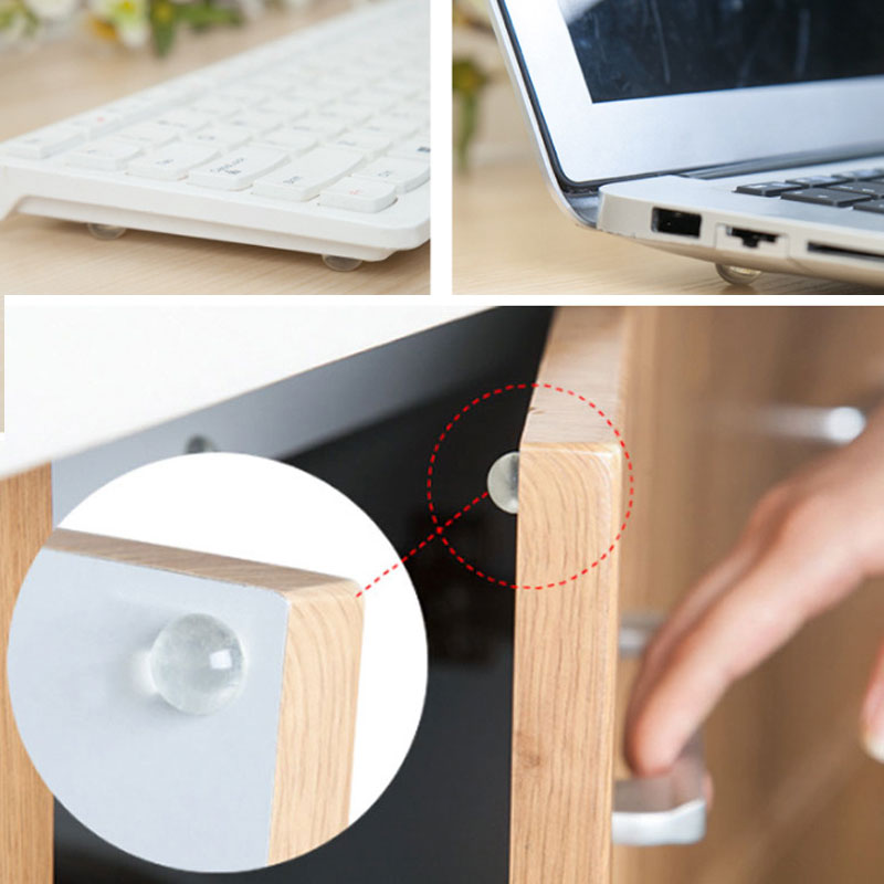 24Pcs/Lot Child Protection Baby Safety Shock Absorbers Security Card Door Stoppers Wall Protectors Door Stop Drawer Lock