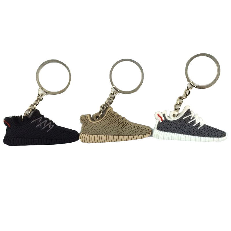 Aliexpress.com : Buy 50pcs Yeezys 750 Yeezy 350 Boost Keychain Silicone  Jordan Key Chains Sneaker Key Rings Holder Kids Llaveros Chaveiro Porte  Clef from ...