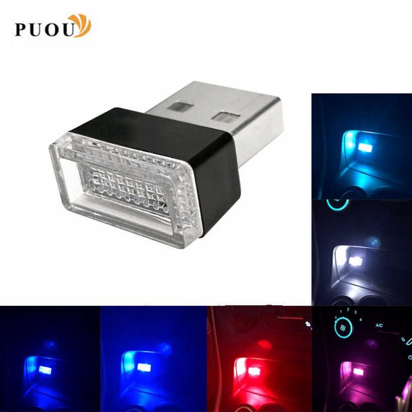 LED سيارة الداخلية جو ضوء الملحقات ملصقا لشركة هيونداي IX35 سولاريس أكسنت I30 توكسون إلنترا سانتا في جيتز I20 سونات