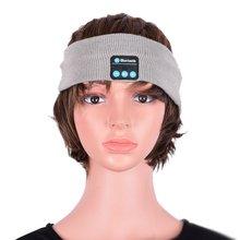 2016 Unisex Soft Warm Wireless Bluetooth Smart Caps Headset Speaker Mic