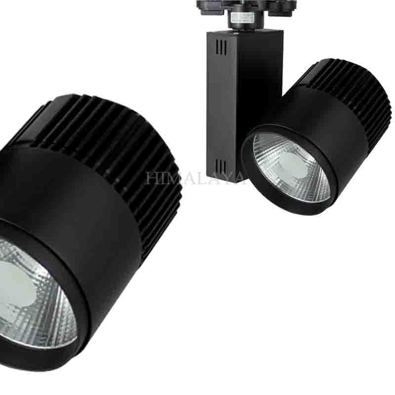 Toika Fedex 10pc/lot 20w LED cob track light for store/shopping 2 wire Color optional White/black Spot light