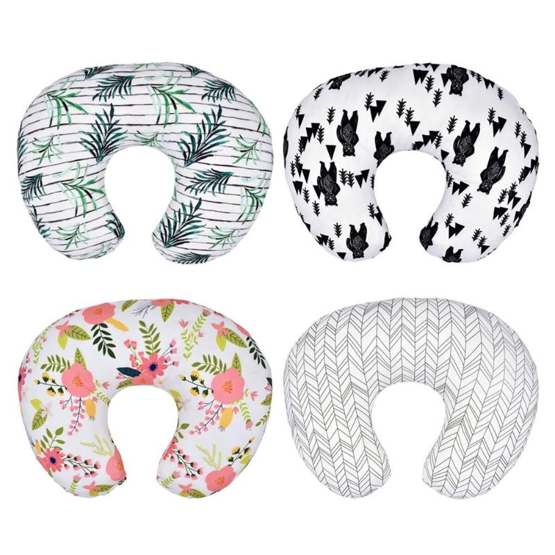 Baby Nursing Pillows Cover Maternity Baby U-Shaped Breastfeeding Pillow Infant Cuddle Cotton Feeding Waist Cushion