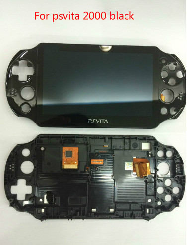 Original Lcd Display Touch Screen Digitizer Replacement For Playstation Psvita Ps Vita Slim Psv 2000 Pch 2000 Screen With Frame Aliexpress