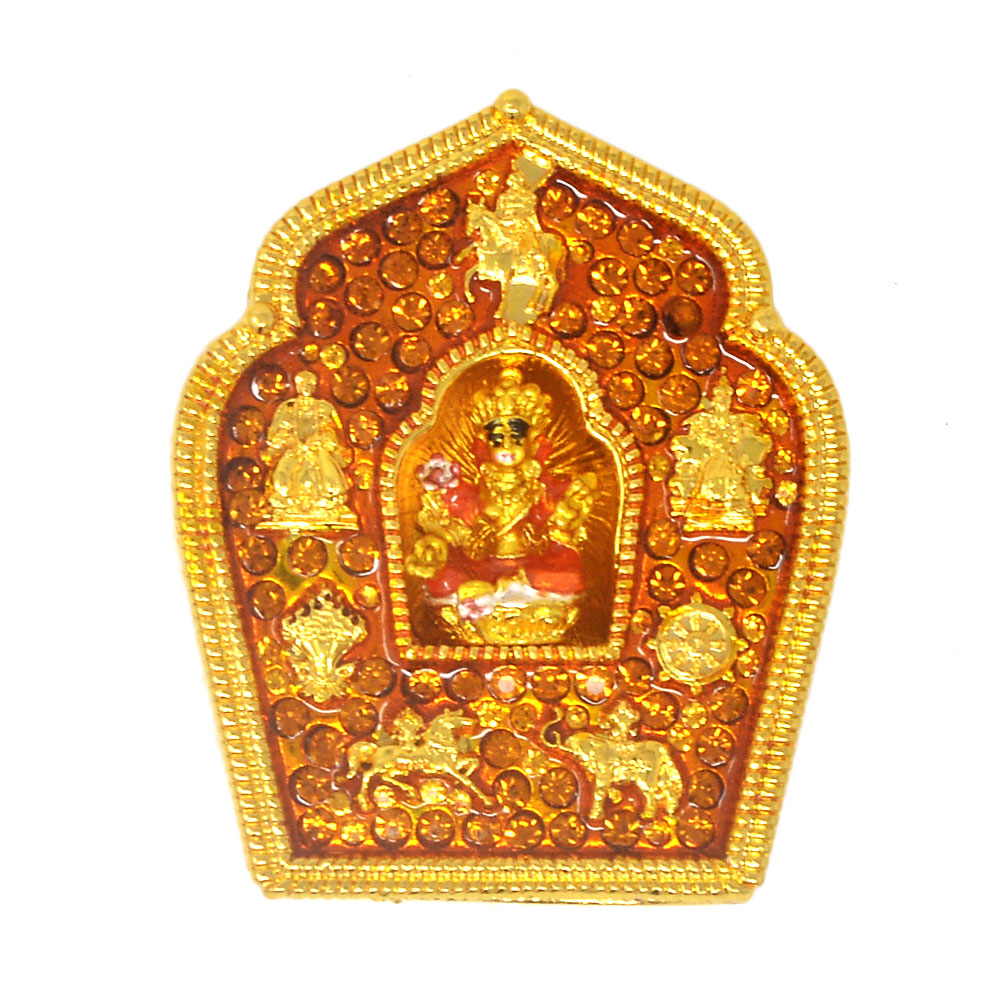 Feng Shui Golden Tara Home Protection Amulet W3911