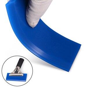 Image 2 - Foshio 20 pçs de reposição bluemax lâmina borracha para janela rodo vinil carbono carro embrulho matiz ferramenta água raspador gelo ferramenta limpeza