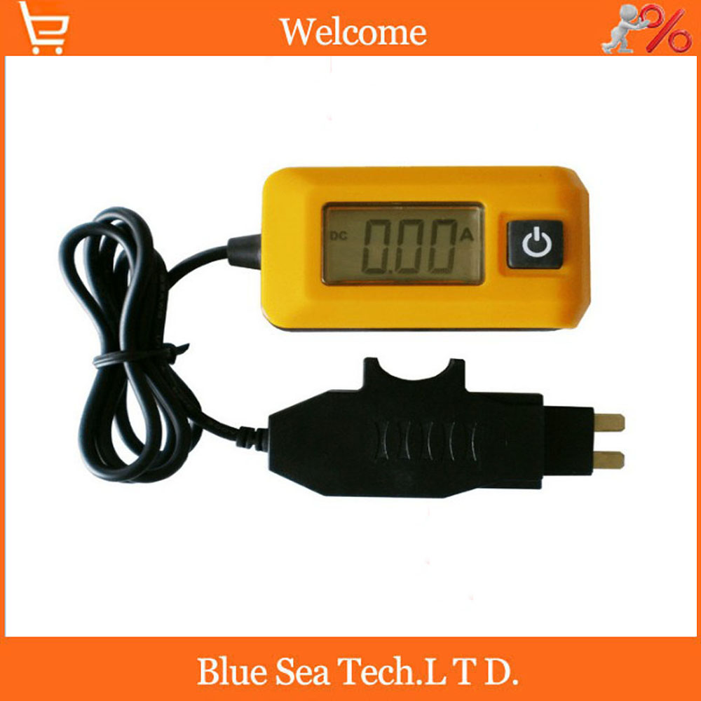 New Auto fuses tester/detector,car fuse tester 0.01A--19.99A,Great auto tool,Auto Electric current tester (Not include battery)