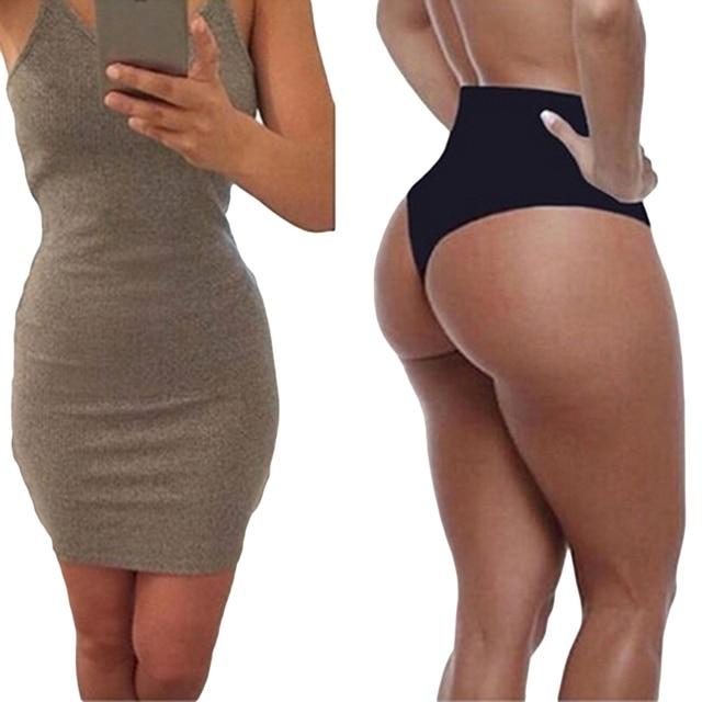 db4d772cd11 Amazing Sexy Panties Seamless Bottom Panties Buttocks Push Up Lingerie  Women s Underwear High Rise Butt Briefs