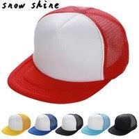 snowshine #4003 Unisex Mesh Baseball Cap Hat Blank Visor Hat Adjustable free shipping