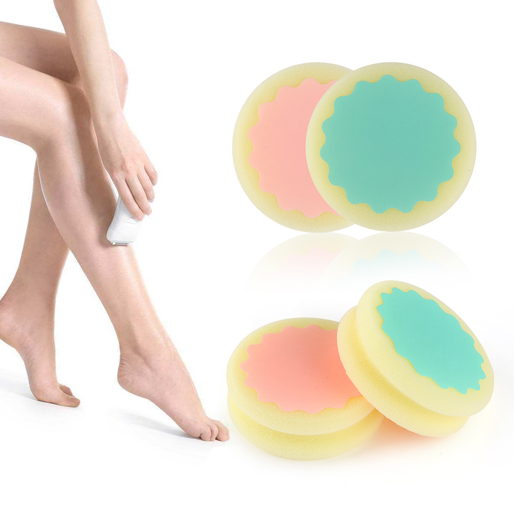 Shaving & Hair Removal 1pc Magic Painless Hair Removal Depilation Sponge Smooth Remove Leg Skin Pad Arm Remove Body Hair Face Skin Care Effective Delaying Senility Beauty & Health