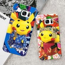 Pokemon Phone Case For Samsung Galaxy s7 s6 & s5