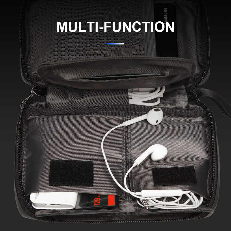 YESO נסיעות אוניברסלי כבל ארגונית אלקטרוניקה אביזרי מקרי גאדג 'ט תיק עבור USB, טלפון, מטען וכבל