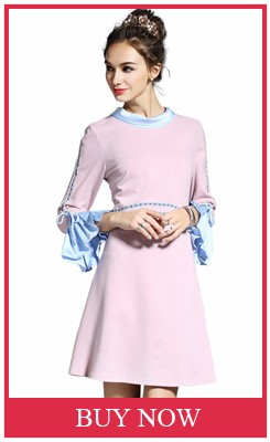 2016-Autumn-Long-Sleeve-Pink-Dresses-For-Women-Plus-Size-L-5XL-Elegant-Embroidery-Flare-Sleeve