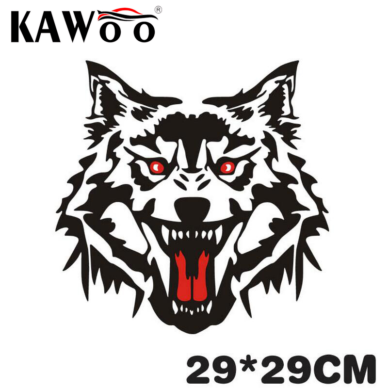 Online Get Cheap Wolf Stickers For Motorcycles Aliexpresscom - Motorcycles stickers