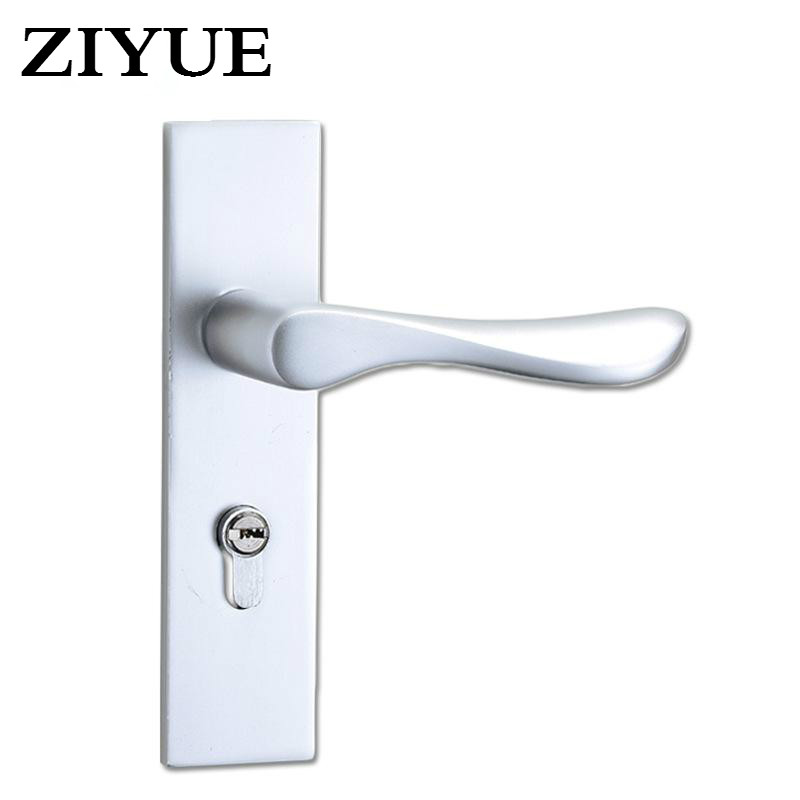 Free Shipping  Classic Fashion Space Aluminum Door Lock  Bedroom Living Room Door Mechanical Utility Space Aluminum Lock factory interior door lock living room space aluminum mechanical lockset wholesale quality assuranced handle locks