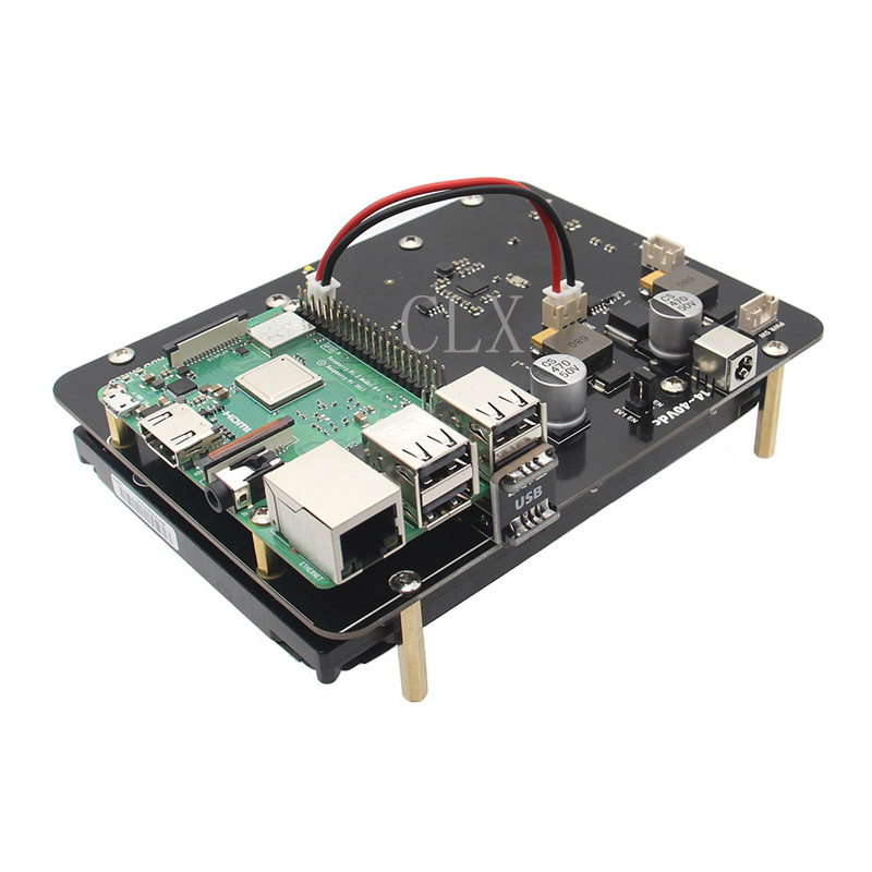 цена на Raspberry Pi 3 Model B+(Plus) SATA 3.5 inch HDD Hard Disk Drive Storage Expansion Board X830 Extension Module For Pi3 B+/3B/2B/B