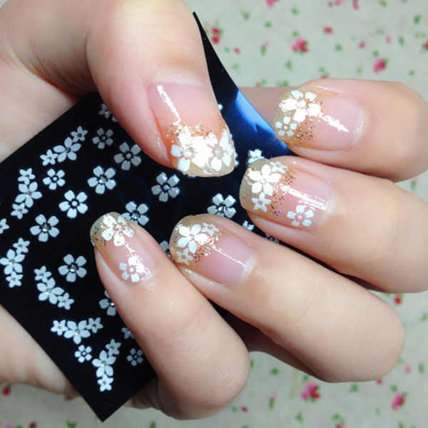 2 pack 3d nail stickers white flowers adhesive nail art decals 2 pack 3d nail stickers white flowers adhesive nail art decals na0045 prinsesfo Gallery