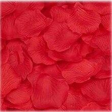 1000PC Silk Artificial decorative Flower Rose Petals Wedding Party Decorations RD Valentine petale de rose flores