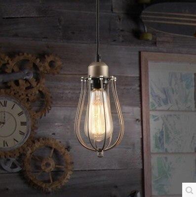 60W Edison Retro Vintage Lamp Loft Style Vintage Industrial Lighting Pendant Lights with Glass Lamp Shade loft industrial rust ceramics hanging lamp vintage pendant lamp cafe bar edison retro iron lighting