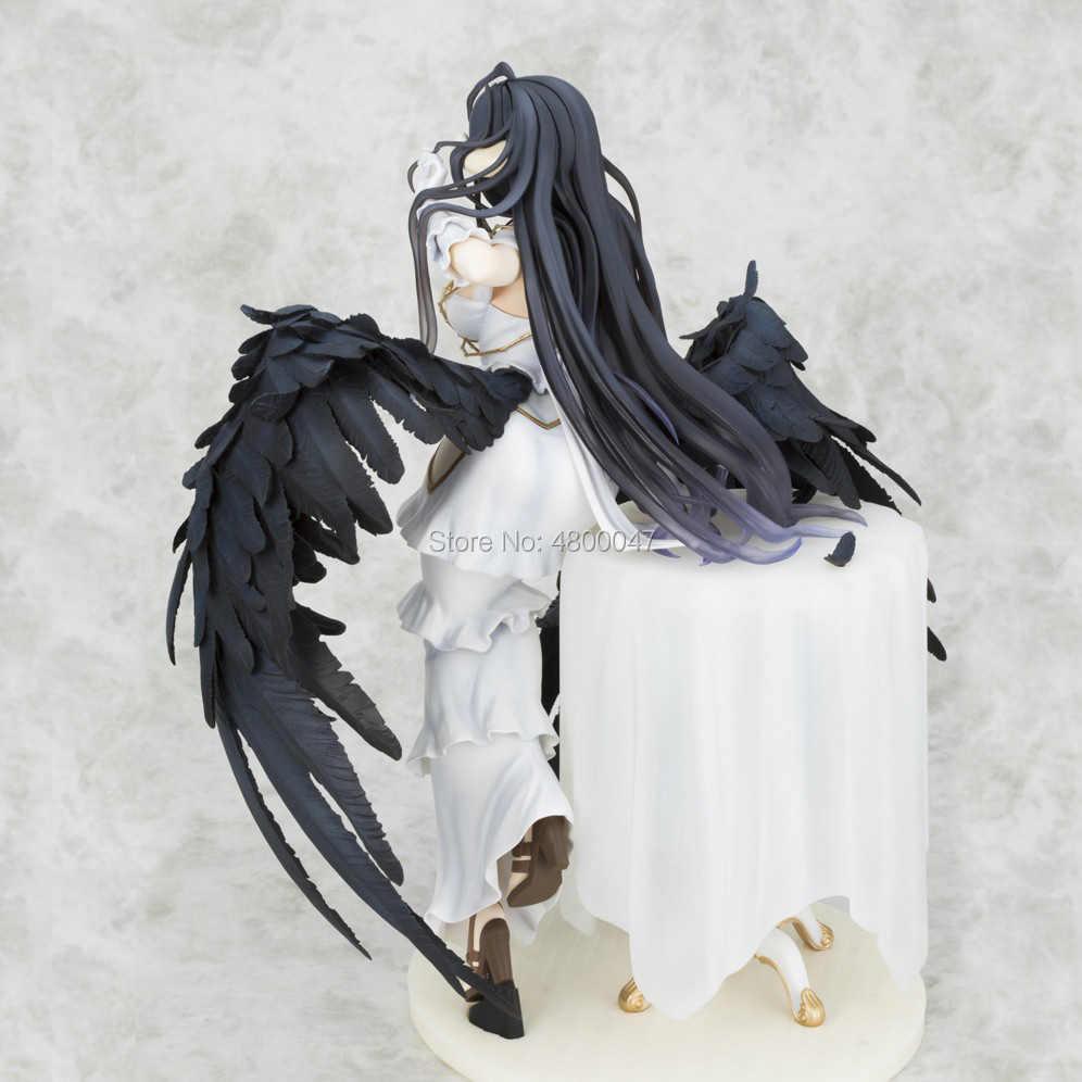 25 Cm Albedo Gadis Seksi Action Figure Anime Jepang Dewasa PVC Action Figure Mainan Tokoh Anime Mainan untuk Anak-anak Anak natal