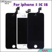 30PCS LOT All Test AAA LCD Screen Display For IPhone5 5s 5c Touch Glass Digitizer Assembly