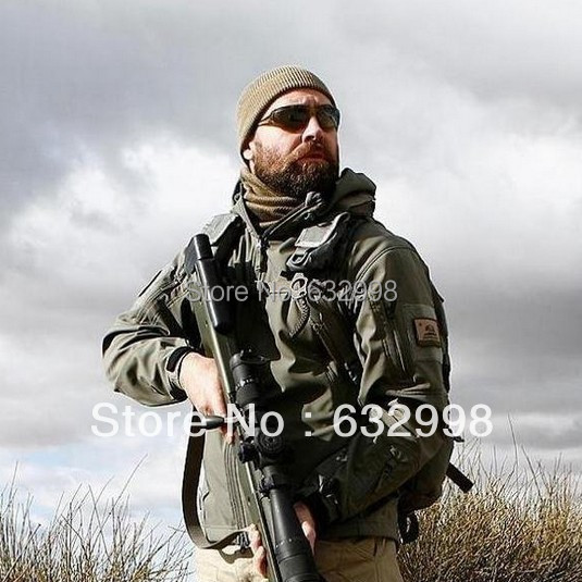 High Quality TAD V 4.0 Lurker Shark Skin Softshell Jacket Men Outdoor Military Jacket Waterproof Windproof Army Clothing