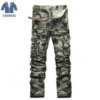 Tactical Pant Airborne Jeans Casual Plus Size Cotton Breathable Multi Pocket Military Army Camouflage Cargo Pants For Men