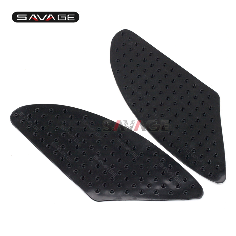 For KAWASAKI Z750 <font><b>Z1000</b></font> <font><b>2007</b></font> 2008 2009 Motorcycle Tank Traction Pad Anti Slip Sticker Side Decal Gas Knee Grip Protector image
