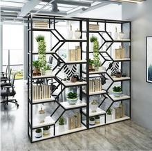 Tieyi living room partition shelf creative display beauty salon cosmetics cabinet