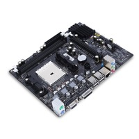 A55 FM1 Desktop Computer Mainboard Motherboard Integrated RTL8105E For DDR3 1066 1333 1600 MHz For IntelA55