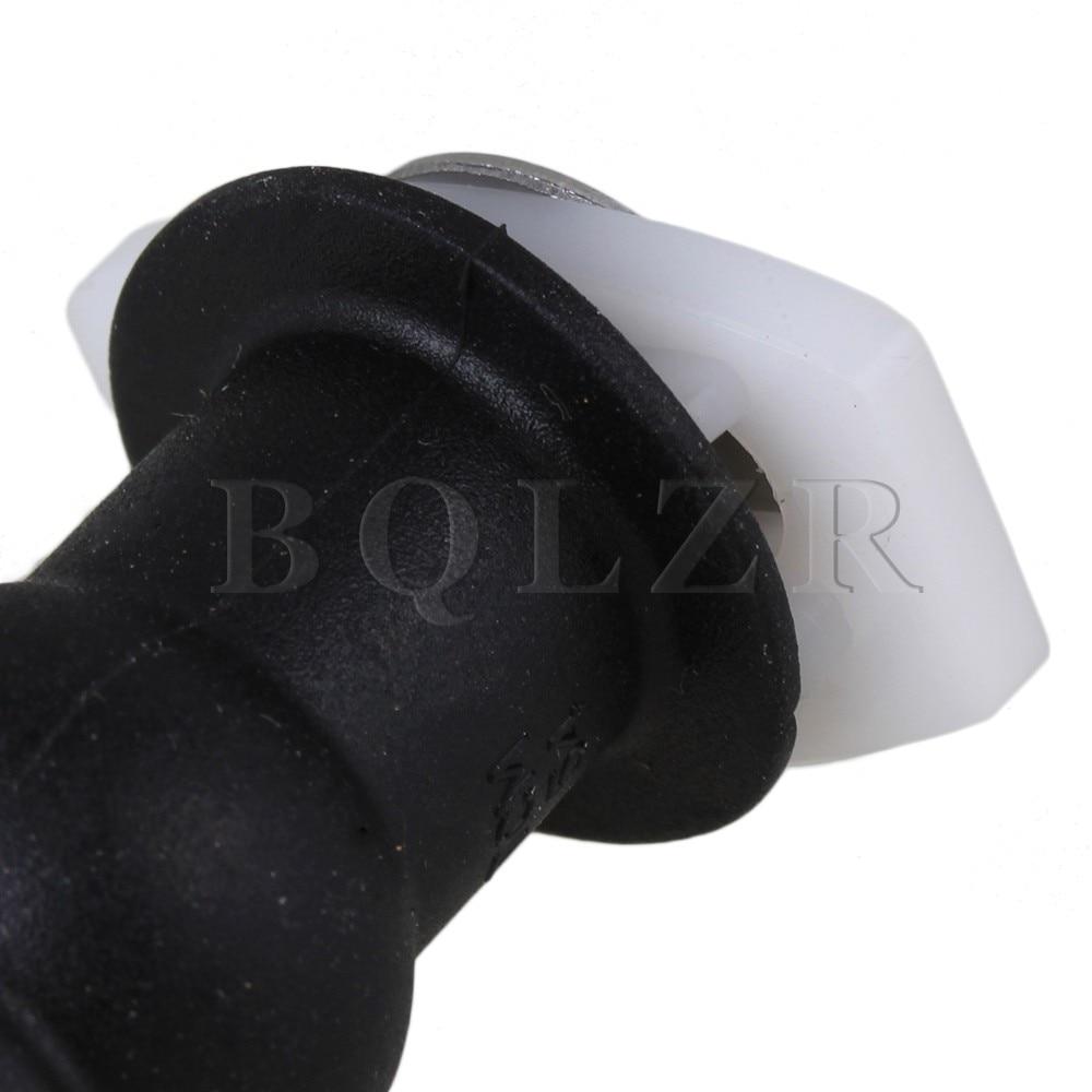 Rubber Metal Black Toilet Seat Screws Mounting Seat Hardware Set of 2
