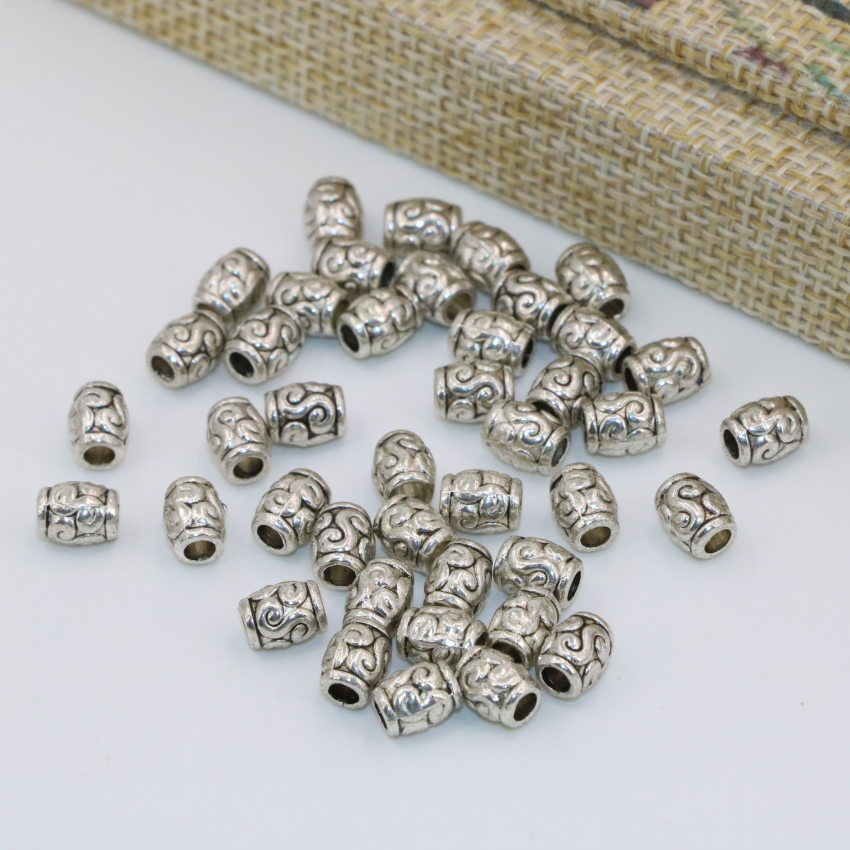30x15 mm .22 oz6.2 grams Sterling silver bead silver17 India