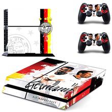HOMEREALLY Stickers PS4 Skin 2018 World CUP PVC HD Sticker Cover For Sony Playstation4 Console and Controller Skin Ps4 Accessory цена