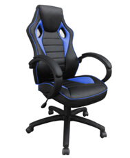 Racing Synthetic Leather Gaming Chair Internet Cafes Computer Game Chair Comfortable Household Office Furniture Home Fixture