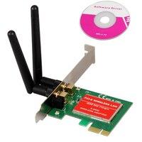 CAA Hot PCI Express PCI E 300Mbps IEEE 802 11b G N Wireless WiFi Network Card