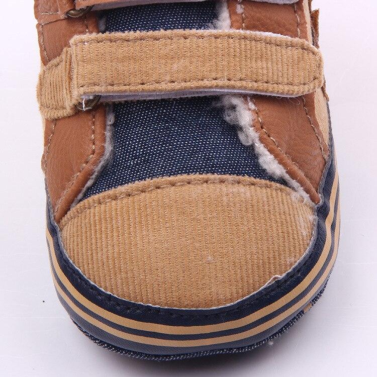 11-13 cm Winter Jungen Weiche Sohle Schuhe Warme Kinder Erste - Babyschuhe - Foto 4