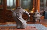 Promotion Sale Purple Grit Drinkware 410ML Beauty Teapot Free Shipping