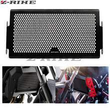 FOR MT07 LOGO Motorcycle Radiator Protective Cover Grill Guard Grille Protector Silver For Yamaha MT 07 MT-07 2014-2015