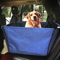 Travel Portable Foldable Pet Carriers Storage Bag Waterproof Safety Front Back Seat Dog Cat Car Hammock Carrier Basket