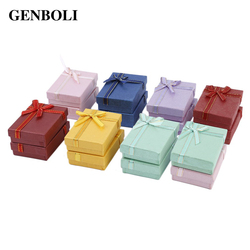 Genboli 16 pcs pack mixed color ornaments boxes case jewelry gift packaging casket for necklace earring.jpg 250x250