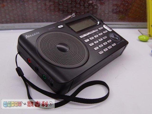10 шт. Anjian dts-13 Цифровой включение радио SD card MP3 player