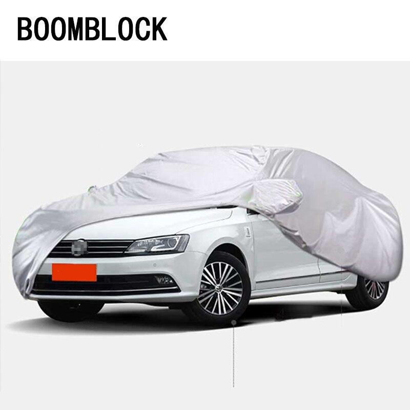 Berline M étanche à la poussière bâches de voiture pour Ford Fiesta Audi TT BMW F20 E87 Volkswagen Bora Jetta Skoda accessoires Auto rapide